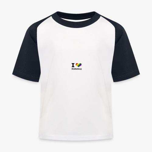 I love Schöneberg - Kinder Baseball T-Shirt
