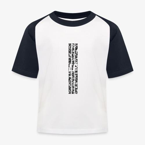 LF camo stripes - Baseboll-T-shirt barn