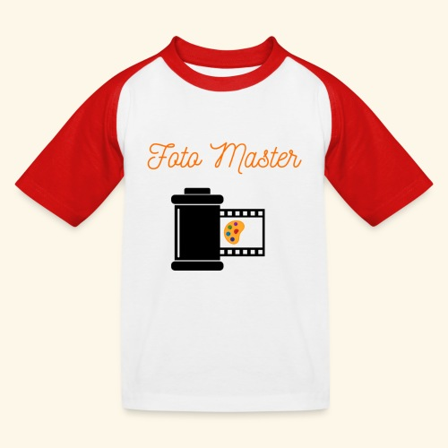 Foto Master 2nd - Baseball T-shirt til børn