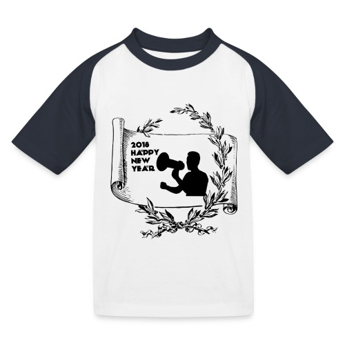 Happy New Year 2018 - T-shirt baseball Enfant