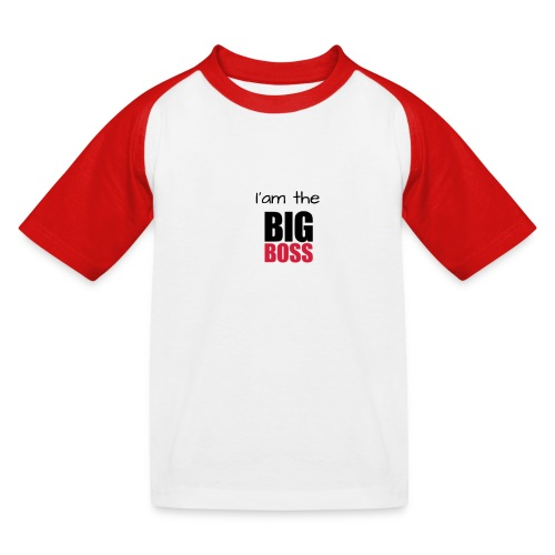 I am the big boss - T-shirt baseball Enfant