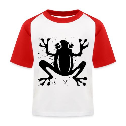 Crafty Wotnots Tree Frog - Kids' Baseball T-Shirt
