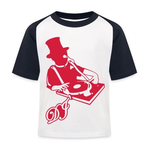 DJ Anno 1887 © forbiddenshirts.de - Kinder Baseball T-Shirt