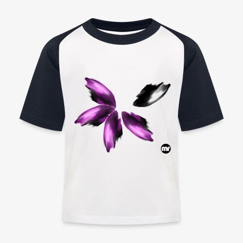 Sembran petali ma è l'aurora boreale - Maglietta da baseball per bambini