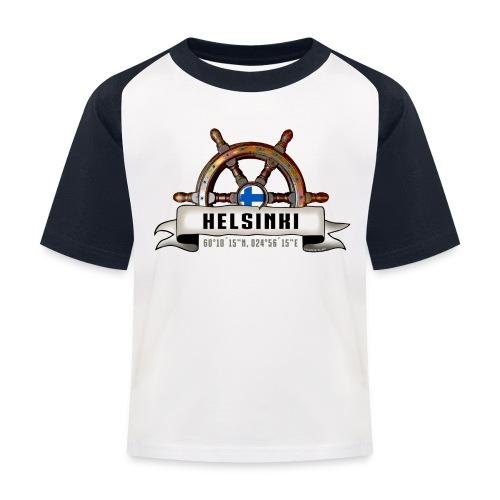 Helsinki Ruori - Merelliset tekstiilit ja lahjat - Lasten pesäpallo  -t-paita