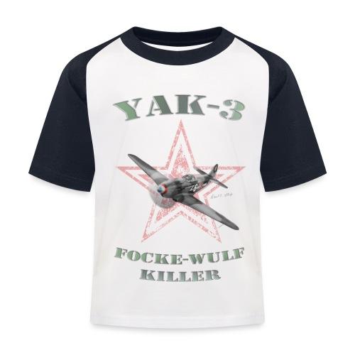 YAK n6 FWkiller15 copie2 - T-shirt baseball Enfant