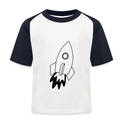 Space - Maglietta da baseball per bambini