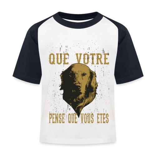 Un amour de chien - T-shirt baseball Enfant