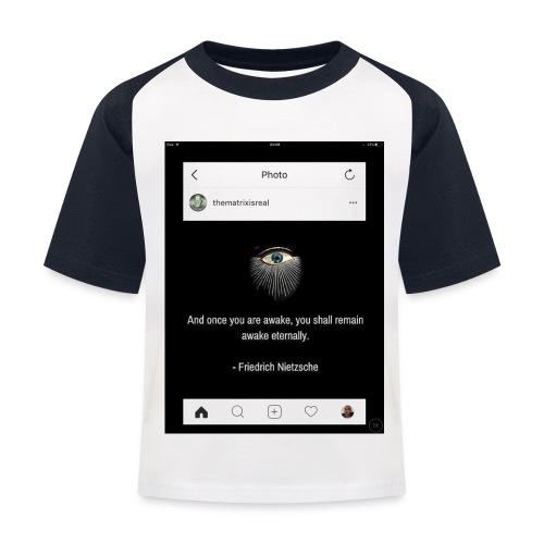 81F94047 B66E 4D6C 81E0 34B662128780 - Kids' Baseball T-Shirt