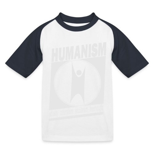 Humanism - Kids' Baseball T-Shirt