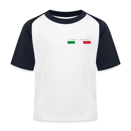 Info Italy Design - Maglietta da baseball per bambini