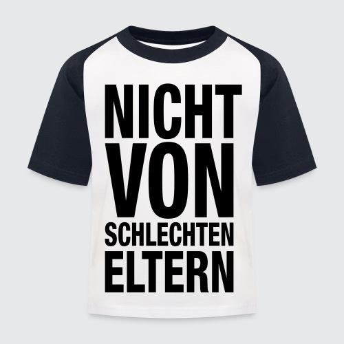 eltern - Kinder Baseball T-Shirt