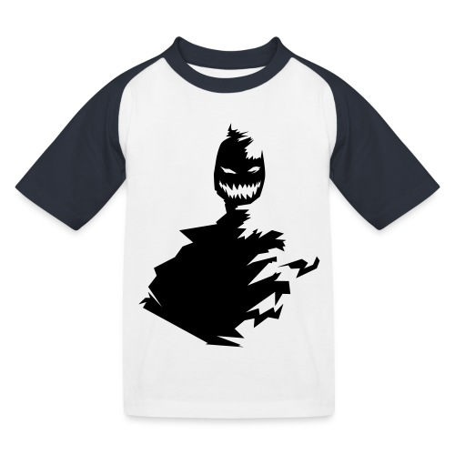 t shirt monster (black/schwarz) - Kinder Baseball T-Shirt