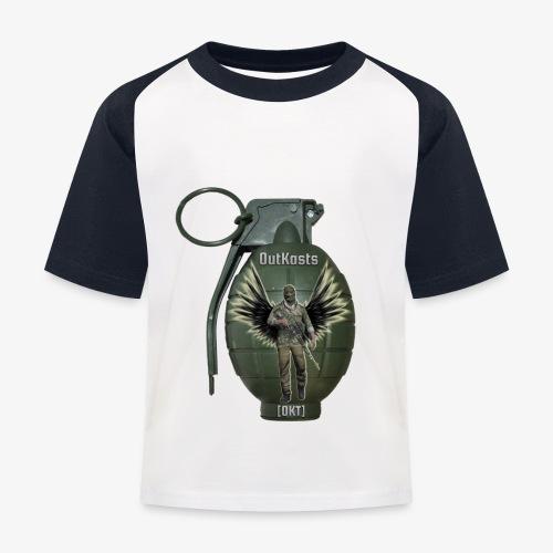 grenadearma3 png - Kids' Baseball T-Shirt