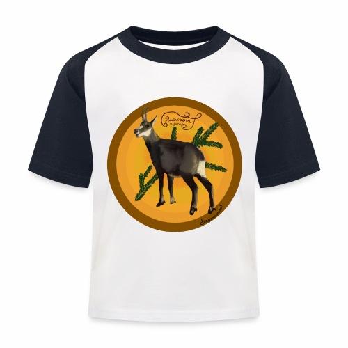 Le chamois - T-shirt baseball Enfant