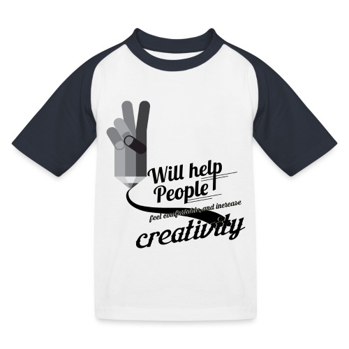 crati - Kids' Baseball T-Shirt