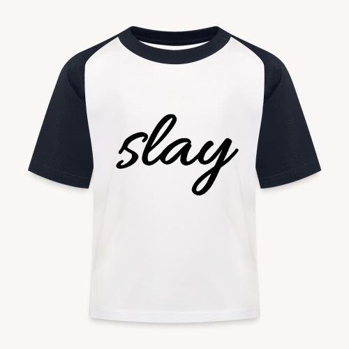 SLAY - Lasten pesäpallo  -t-paita
