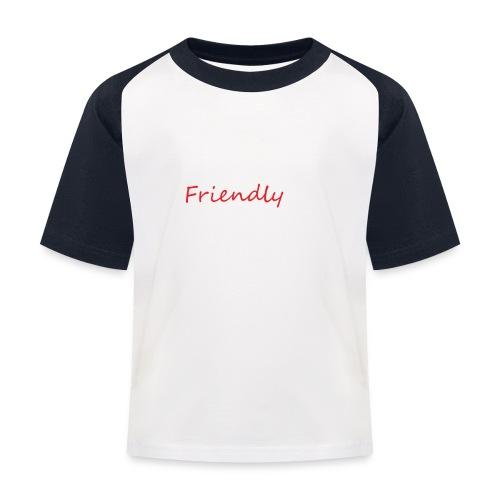 Friendly - Kinder Baseball T-Shirt