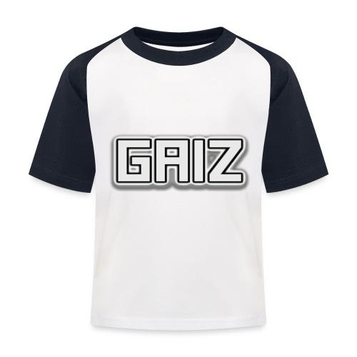 Gaiz-senza colore bimbi - Maglietta da baseball per bambini