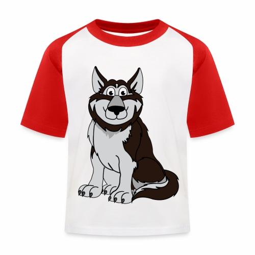 Husky - Kinder Baseball T-Shirt