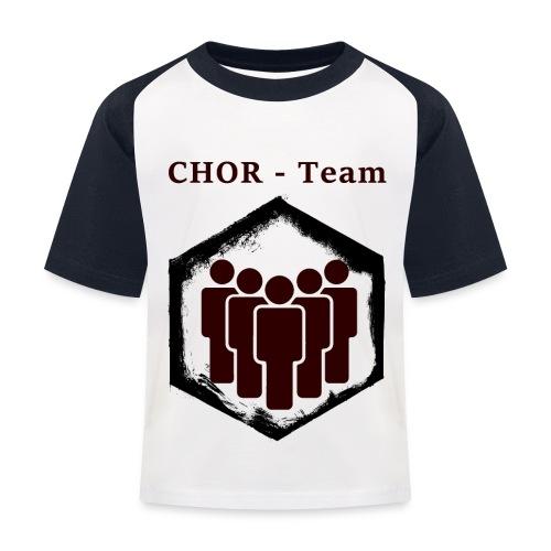 ChorTeam - Kinder Baseball T-Shirt