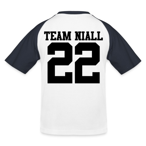 22 Black png - Kids' Baseball T-Shirt