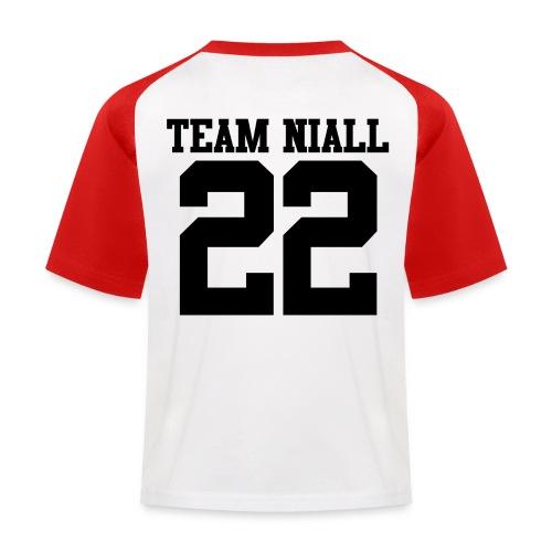 22 Black png - Kids' Baseball T-Shirt