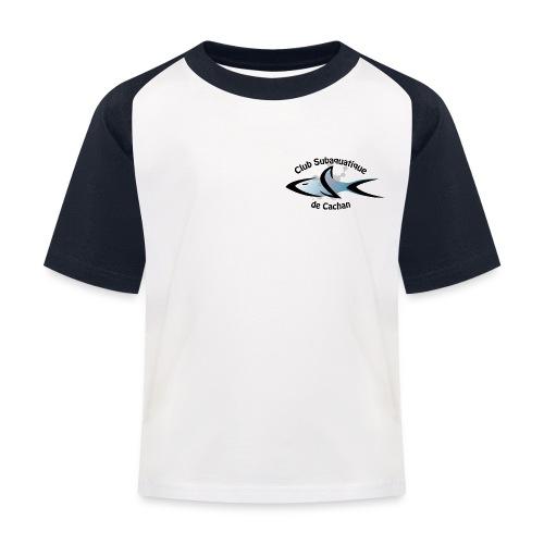CSC Logo v2 text png - T-shirt baseball Enfant
