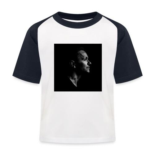 Ryu Flame Porträt - Kinder Baseball T-Shirt