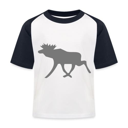 Schwedenelch; schwedisches Elch-Symbol (vektor) - Kinder Baseball T-Shirt