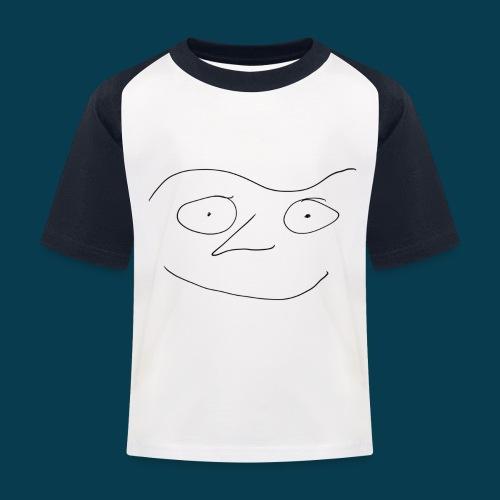 Chabisface Fast Happy - Kinder Baseball T-Shirt