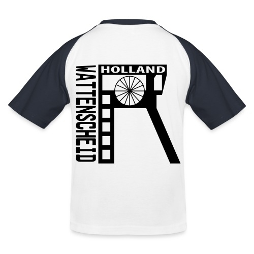 Zeche Holland (Wattenscheid) - Kinder Baseball T-Shirt