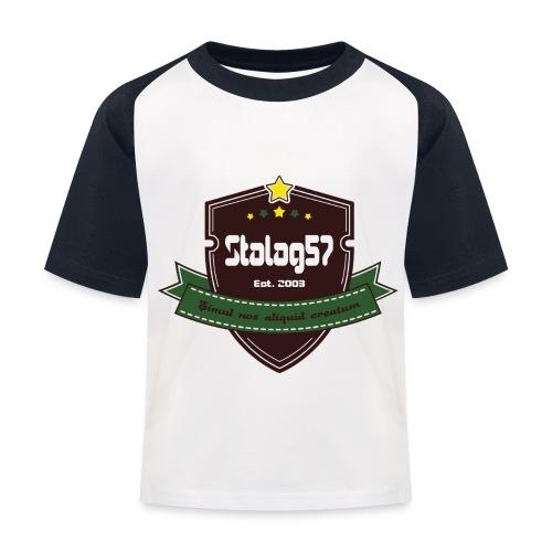 logo - T-shirt baseball Enfant