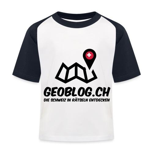 Logo+Schriftzug-hoch - Kinder Baseball T-Shirt