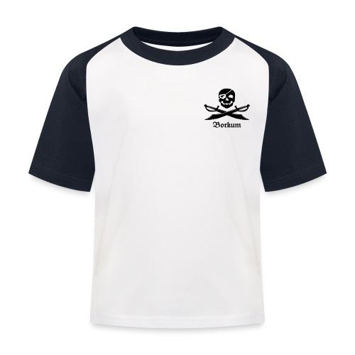 Brustlogo - Kinder Baseball T-Shirt