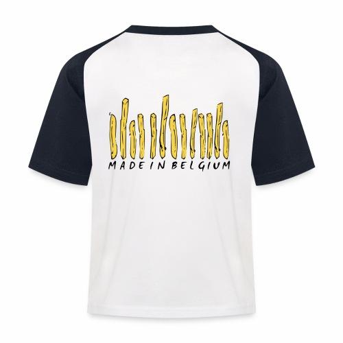 Made In Belgium Frites - T-shirt baseball Enfant