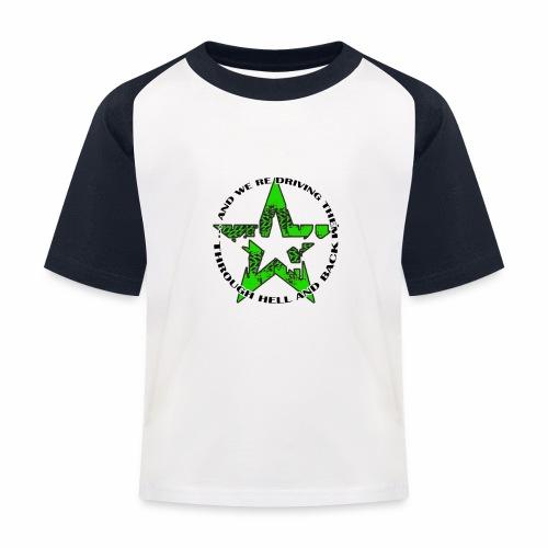 ra star slogan slime png - Kinder Baseball T-Shirt
