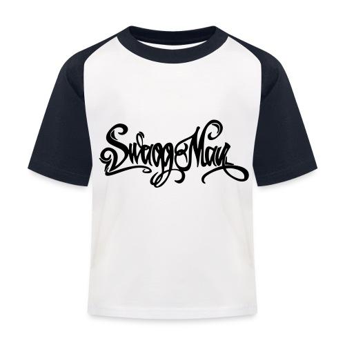 Swagg Man logo - T-shirt baseball Enfant