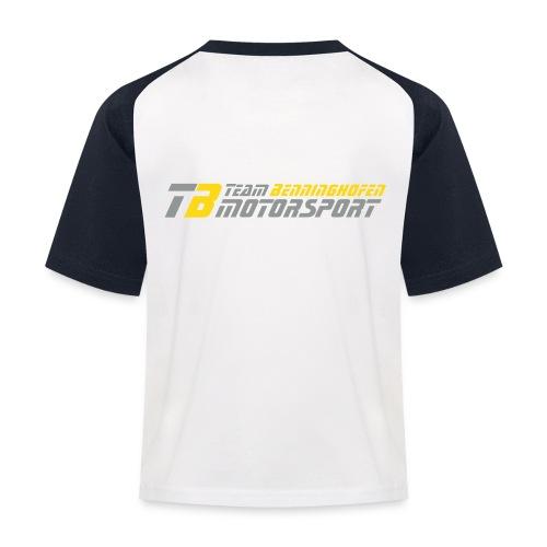 T Shirt 2 Kopie - Kinder Baseball T-Shirt