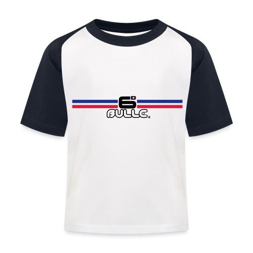 6bulle Bleu-Blanc-Rouge - T-shirt baseball Enfant