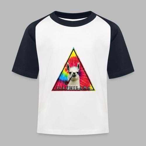 Illumilama logo T-shirt - Kids' Baseball T-Shirt