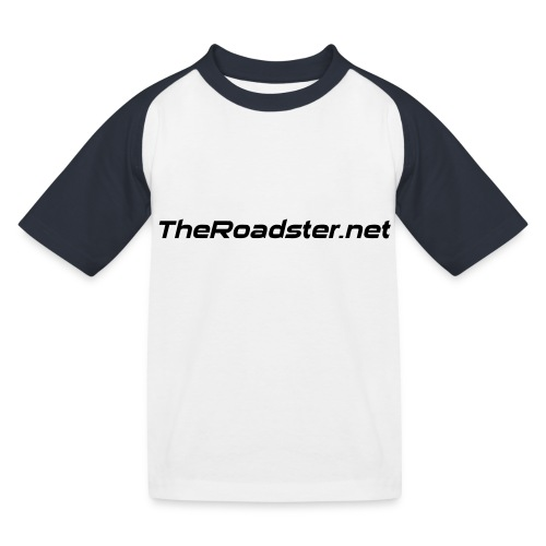 TheRoadster net Logo Text Only All Cols - Kids' Baseball T-Shirt