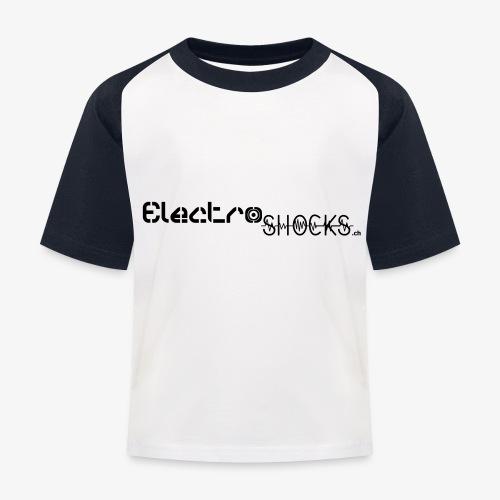 ElectroShocks BW siteweb - T-shirt baseball Enfant