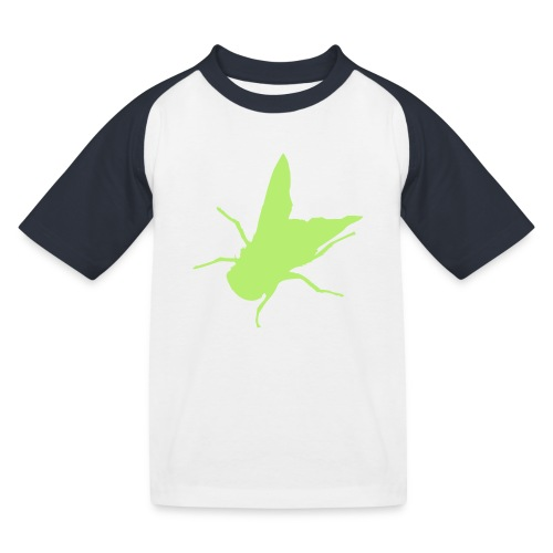 fliege - Kinder Baseball T-Shirt