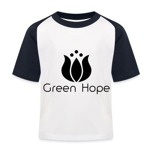 Logo + Ens GreenHope - T-shirt baseball Enfant