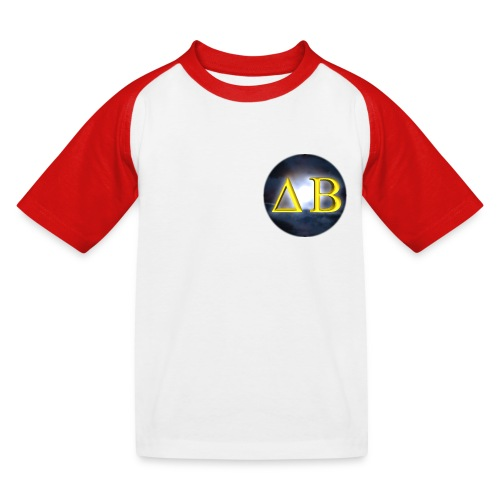 Darkbinder_rund - Kinder Baseball T-Shirt