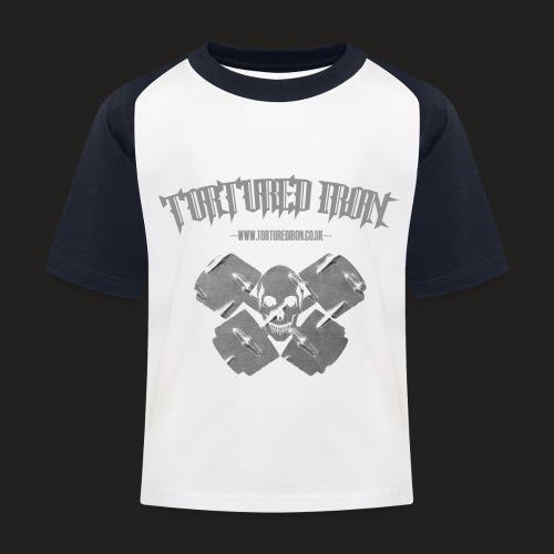 skull - Kids' Baseball T-Shirt