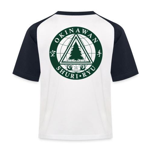 Klubmærke Ryg placering - Baseball T-shirt til børn