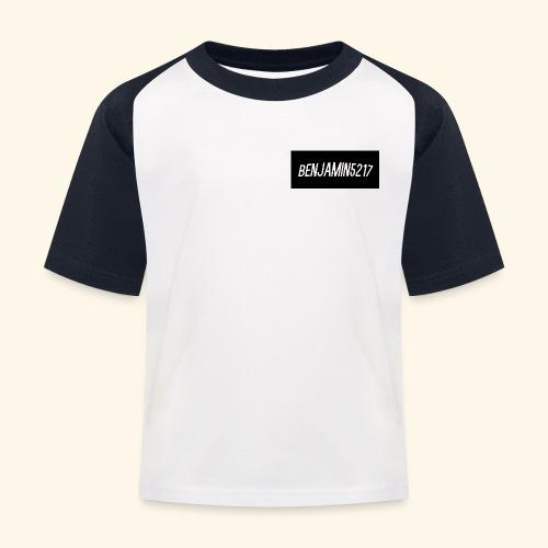 Ikke navngivet 1 png - Baseball T-shirt til børn