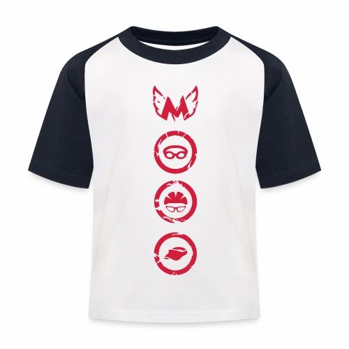 Mosso_run_swim_cycle - Maglietta da baseball per bambini
